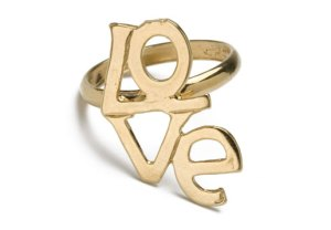 CC Skye Retro Love Ring