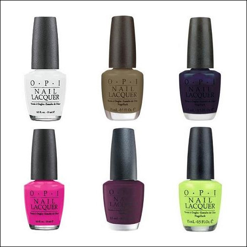 OPI Matte Collection