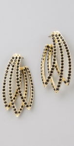 House of Harlow 1960 Feather Earrings