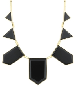 House of Harlow 1960 Resin Triangle Necklace