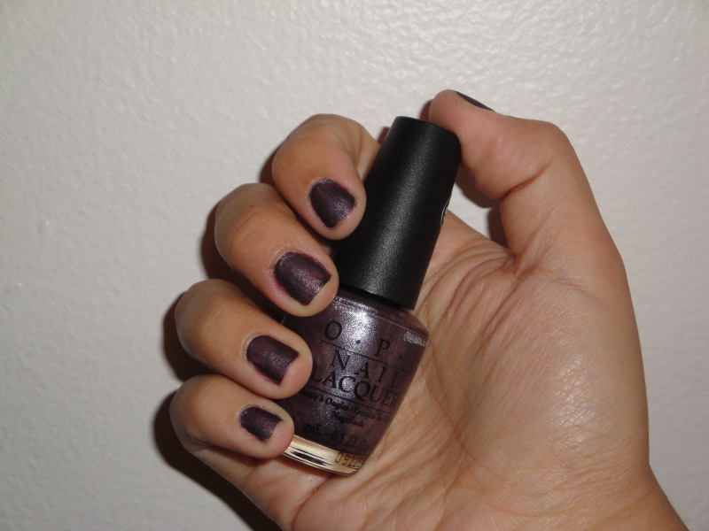 OPI Lincoln Park After Dark - Suede