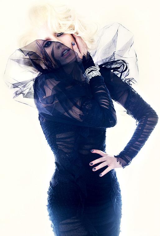 lady gaga photoshoot. Lady GaGa in Vogue Photoshoot