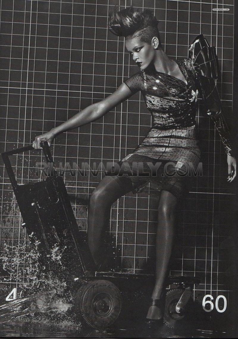 Rihanna Vogue Italia