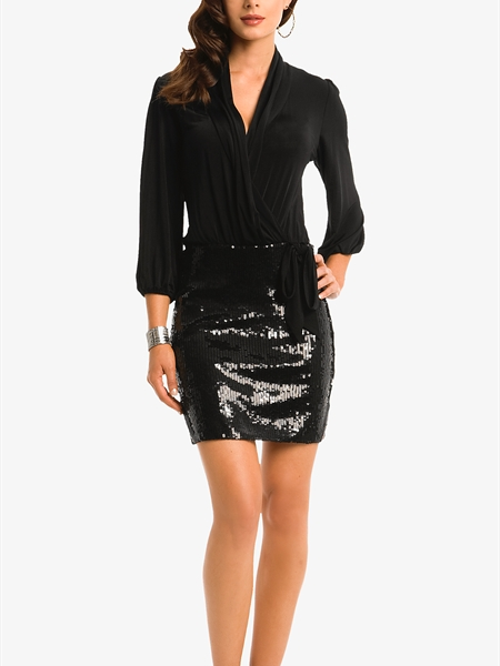 Guess by Marciano Kate Sequin Dress