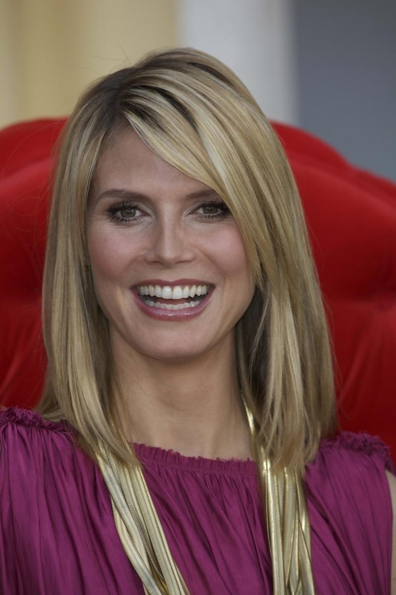 Heidi Klum Haircut