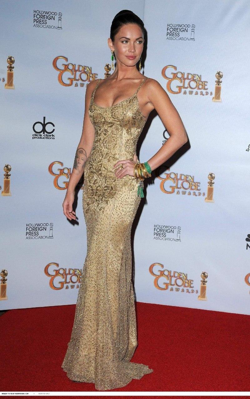 Megan Fox 66th Annual Golden Globes