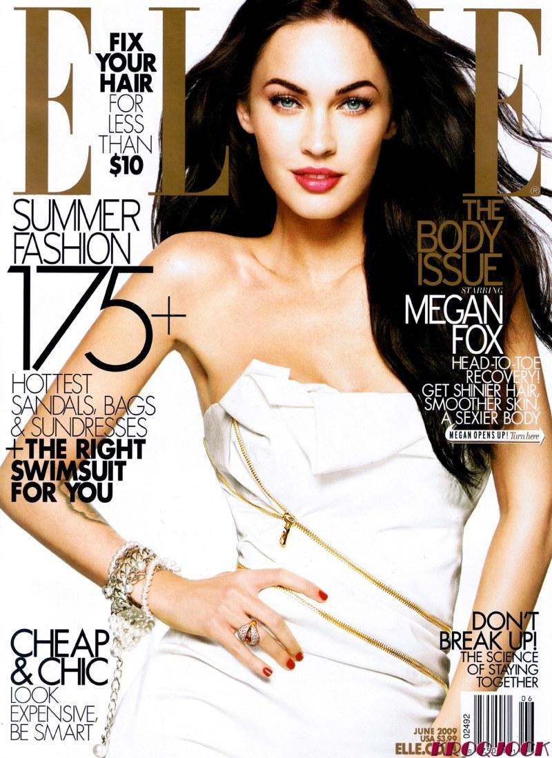 Megan Fox Elle June 2009