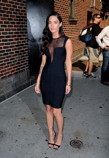 Megan Fox Letterman 62509