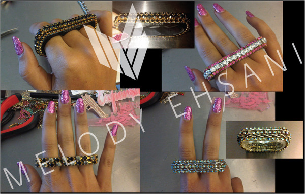 Melody Ehsani Holiday Rings Sneak Peak