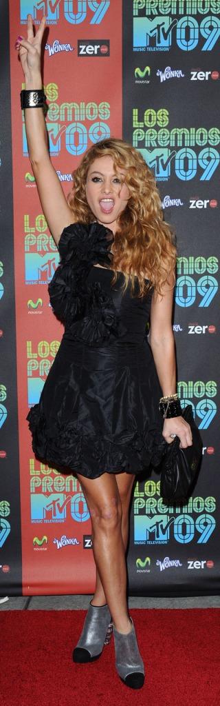 Paulina Rubio Los Premios MTV 2009