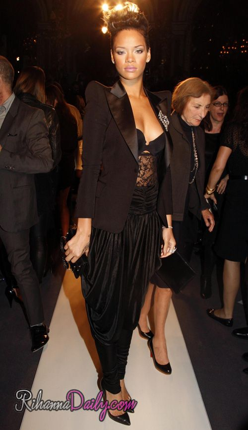 Rihanna Paris Fashion Week