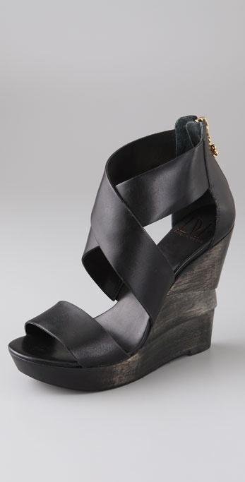 b9d2e4f1de2ae Musing of the Day: DVF Opal Crisscross Wedge Sandals. Diane von Furstenberg.  Opal Crisscross Wedge Sandals