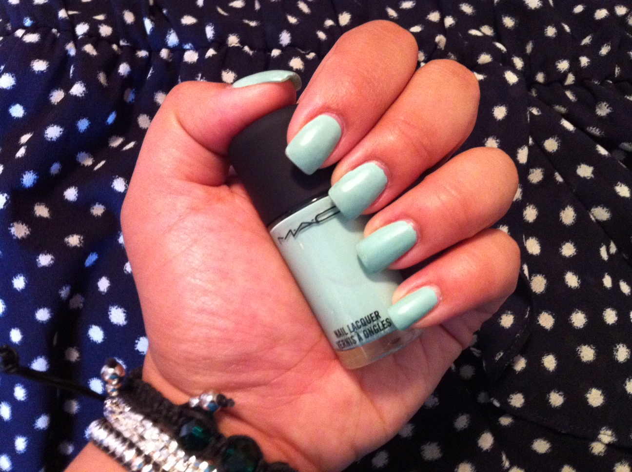Polished: Mischievous Mint by MAC | Musings of a City Girl