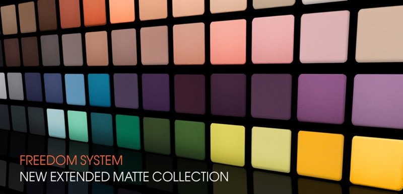 New Freedom System Matte Collection