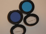 MAC Royale and Blue Candy Eye Shadow (with flash)