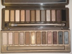 Urban Decay Naked vs. Naked2 Palette