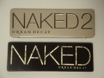 Urban Decay Naked vs. Naked2 Palette Packaging