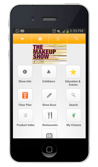The Makeup Show Mobile App